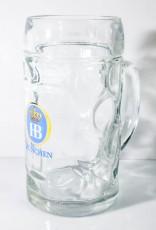 Hofbräu Bier München, Bierseidel, Bierkrug 0,5l Isar Seidel
