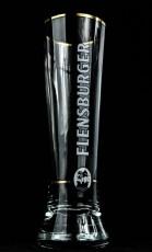 Flensburger Pilsener, Bier, Gläser, Merkurtulpe, Bierglas 0,3l