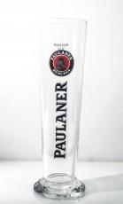 Paulaner Bier Glas / Gläser, Exclusive - Stangen Bierglas / Biergläser 0,3l