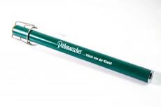 Dithmarscher Bier, Metall Stabfeuerzeug, Kamin Feuerzeug mit Plop Bügelverschluß