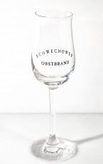 Schwechower Obstbrand, Bouquet Glas, Obstbrandglas, Spirituosenkelch Apero 2cl Böckling
