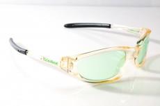 Heineken Bier, Brille, Sport Sonnenbrille, UV 400 Protection, Ausführung Heineken Style Green Edition