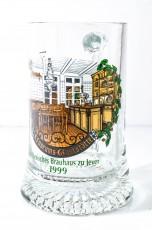 Jever Bier, Sammelglas 0,2l, Editions Krug 1999, Bierseidel Museums Gaststätte
