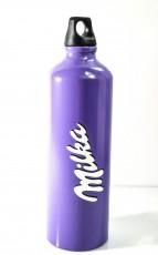 Milka Schokolade, Aluminium Trinkflasche, Thremoflasche ca. 0,5l