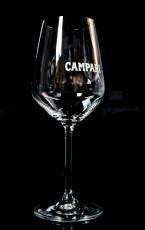 Campari Likör, Stielglas, Ballonglas Trapezform Amalfi 48cl Vd Glass
