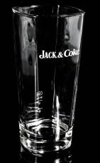 Jack Daniels Whisky, Longdrinkglas, Cocktailglas, Sonderedition Jack & Coke