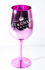 Moet Chandon, Glas Rose Imperial Champagner Pink ECHTGLAS Gläser in OVP