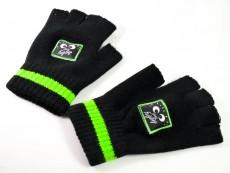 Kleiner Feigling, Fingerlose Woll Handschuhe, Gloves Handy Winter Strick