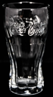 Coca Cola Glas / Gläser Konturglas 0,2l, Logo waagerecht