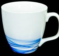 Dove Unilever Sammelbecher, Tasse, Becher weiß/blau,