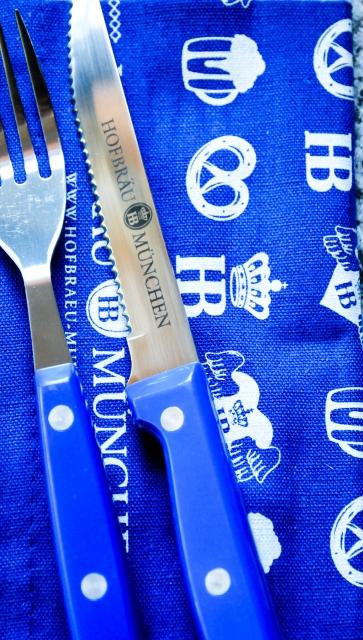 Hofbräu München HB Grillbesteck Brotzeitbesteck