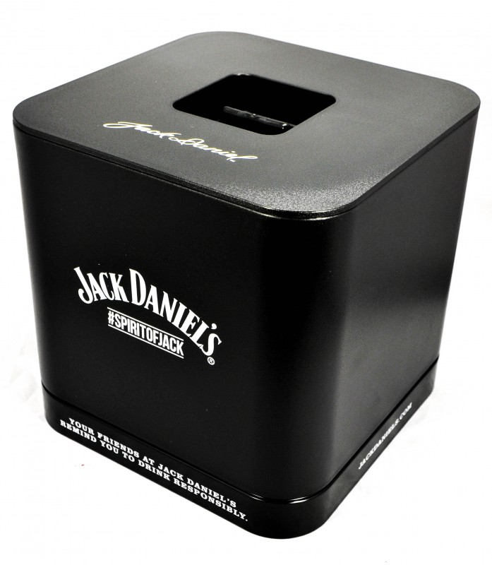 jack daniels flaschenk hler eisw rfelbeh lter. Black Bedroom Furniture Sets. Home Design Ideas
