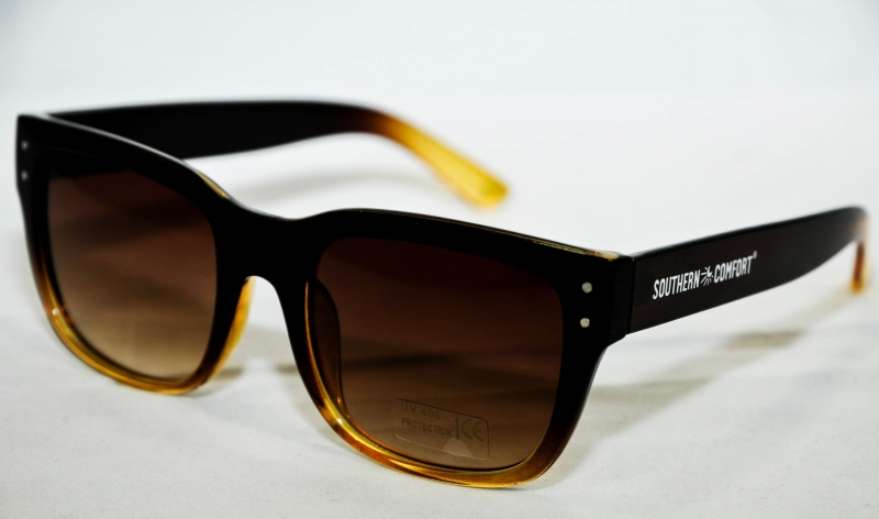 southern comfort sonnenbrille braun uv 400 logo. Black Bedroom Furniture Sets. Home Design Ideas