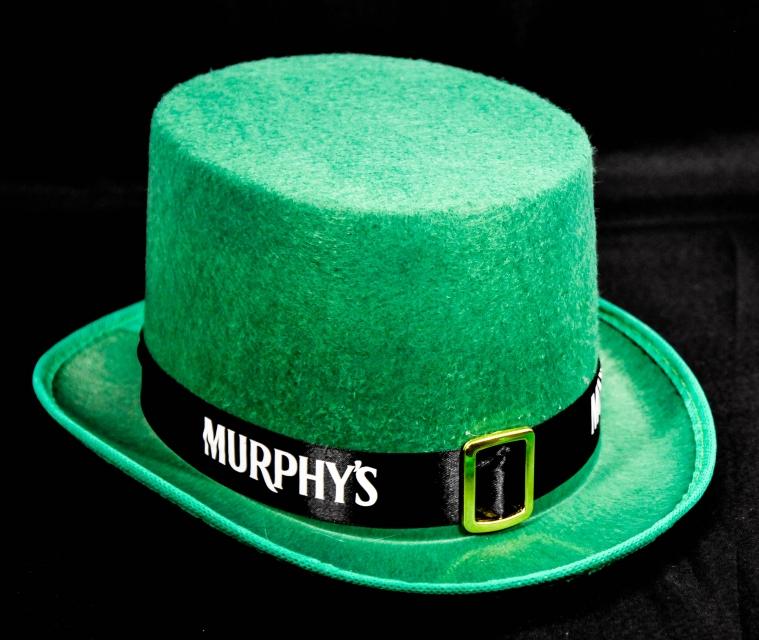 Murphys Beer Bier St Patricks Zylinder Hut Gru