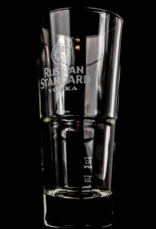 russian standard vodka vodka glas longdrinkglas 2cl 4. Black Bedroom Furniture Sets. Home Design Ideas