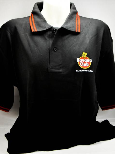 Havana Club Rum Polo Shirt Schwarz Gr M Gestic