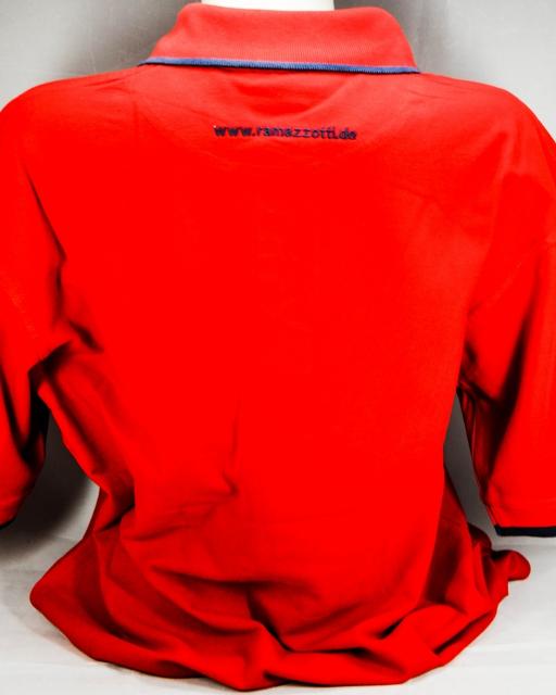 ramazzotti lik r polo shirt men zwei rote kn pfe. Black Bedroom Furniture Sets. Home Design Ideas