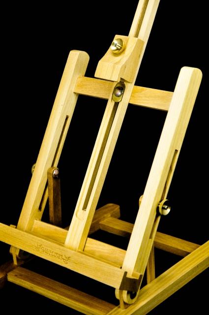 gauloises tabak kleine holz staffelei aufsteller. Black Bedroom Furniture Sets. Home Design Ideas