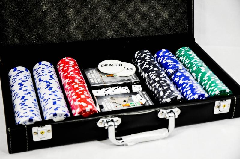 Pokerkoffer Set