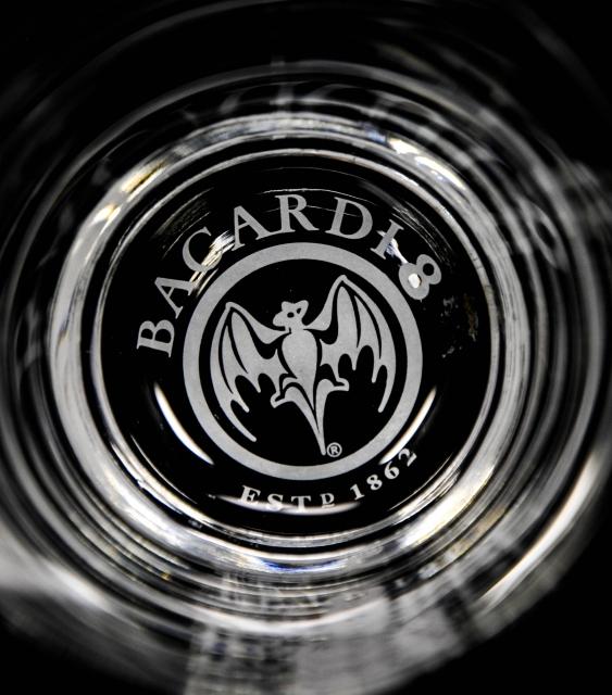 bacardi rum glas gl228ser tumbler quotron 8 a241osquot