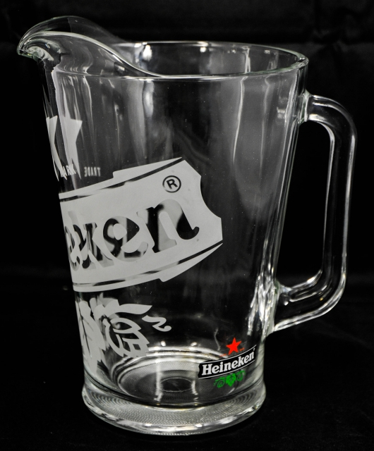 heineken bier glaskaraffe pitcher 1 5l heineke. Black Bedroom Furniture Sets. Home Design Ideas