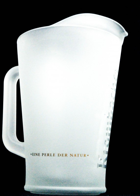 krombacher bier glaskaraffe pitcher 1 5l sati. Black Bedroom Furniture Sets. Home Design Ideas