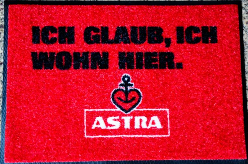 Fussmatte Astra Bier