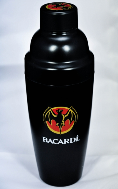 Bacardi Cocktail Shaker, Cocktailmixer, Bar Shaker - Promotionking24