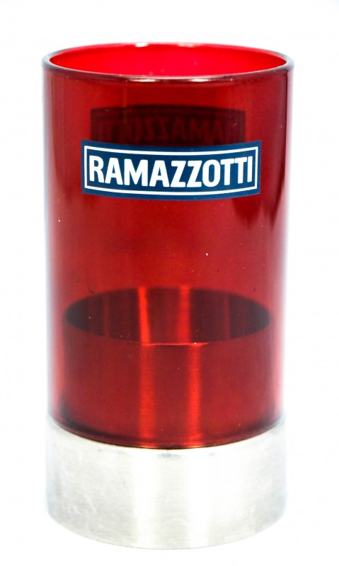 ramazzotti lik r glas windlicht edelstahl rote. Black Bedroom Furniture Sets. Home Design Ideas