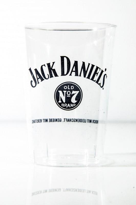 5 x jack daniels whisky acryl empfangsbecher pla. Black Bedroom Furniture Sets. Home Design Ideas