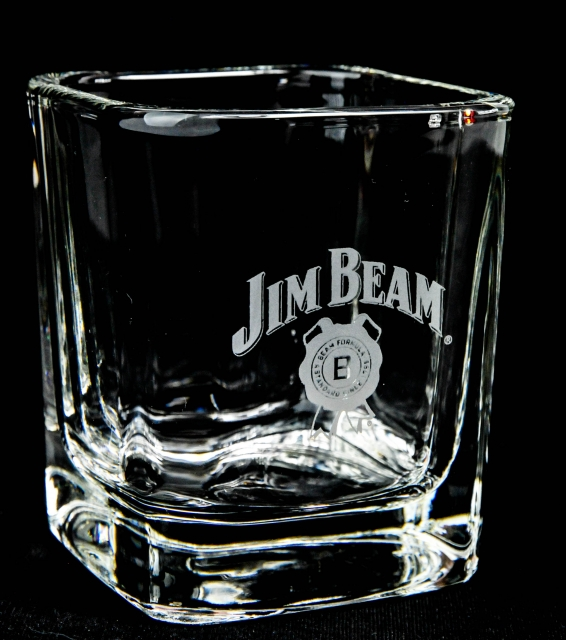 jim beam whisky massiver tumbler whiskyglas seh. Black Bedroom Furniture Sets. Home Design Ideas