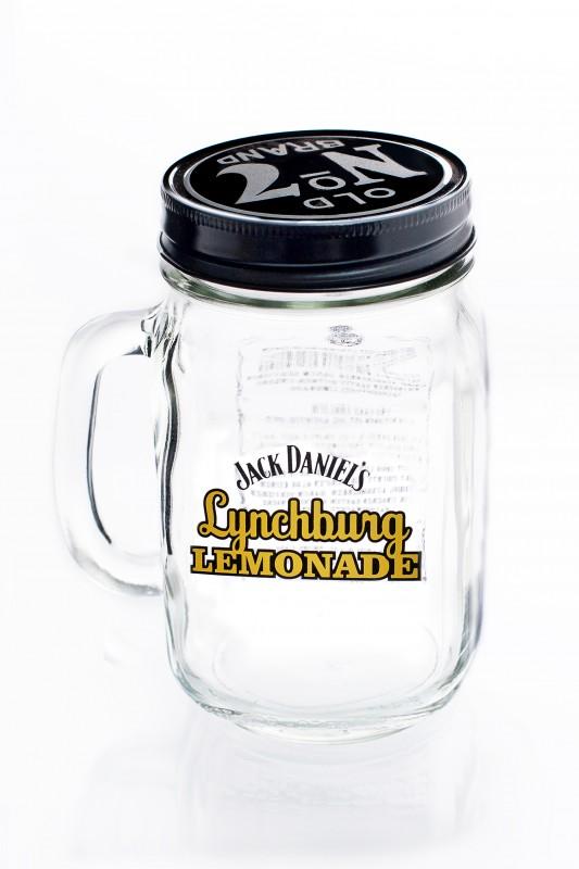 jack daniels whisky lynchburg lemonade krug mit deckel. Black Bedroom Furniture Sets. Home Design Ideas
