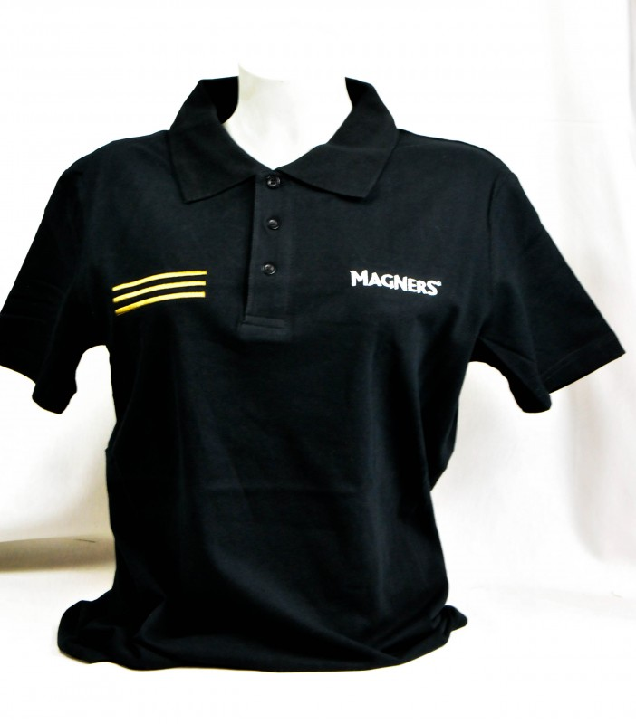 Magners Cider Polo Shirt Logo Neu Schwarze Ausfuhrun