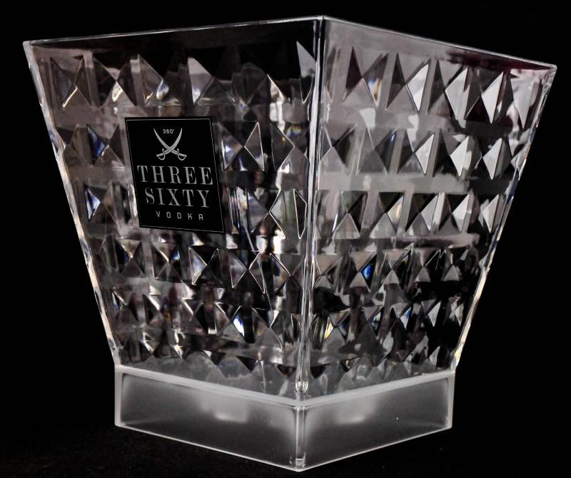 three sixty vodka led acryl eisw rfelbeh lter flasch. Black Bedroom Furniture Sets. Home Design Ideas