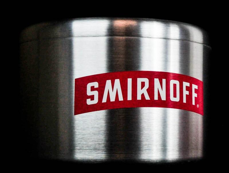 smirnoff vodka eisw rfelk hler alu silber mit label. Black Bedroom Furniture Sets. Home Design Ideas