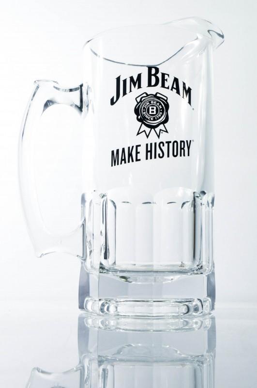 jim beam whisky pitcher wasser karaffe kristall ausf. Black Bedroom Furniture Sets. Home Design Ideas