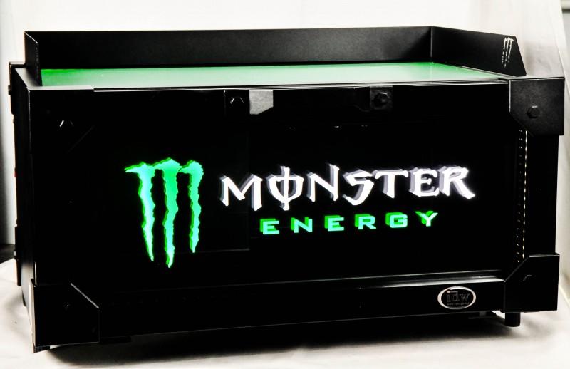 Monster Energy, Gastro Kühlschrank, Back Bar Cooler IDW