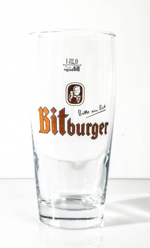 bitburger bier bierglas willibecher 0 25l. Black Bedroom Furniture Sets. Home Design Ideas