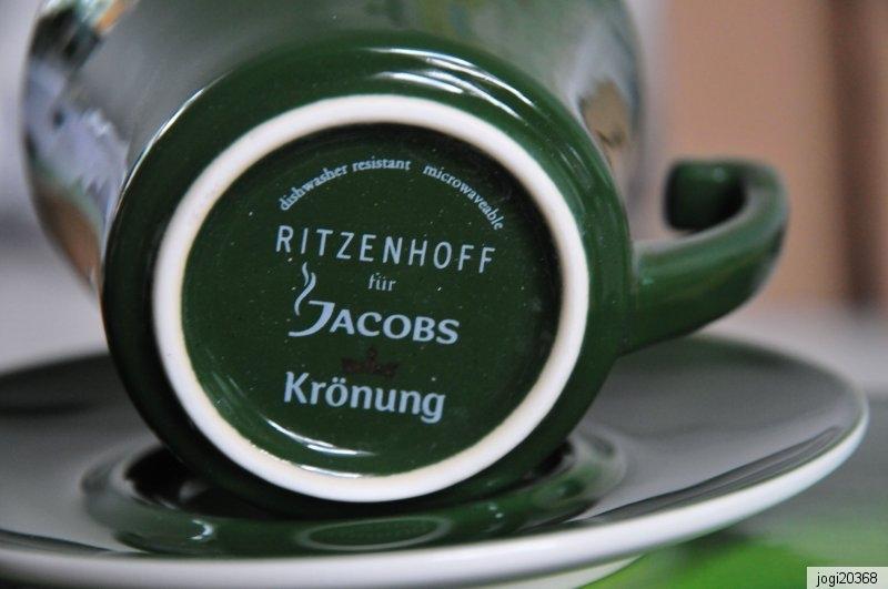 Jacobs Cappuccino Tassen Ritzenhoff Krönung 2 mal