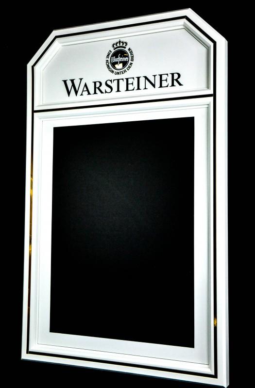 warsteiner bier xxl echtholz kreidetafel wand men ta. Black Bedroom Furniture Sets. Home Design Ideas