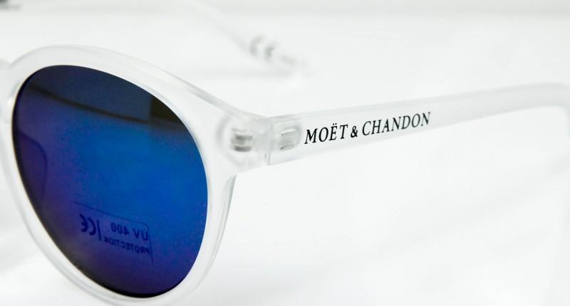 1x Moet Chandon Ice Imperial Sonnenbrille NEU Damen Women Sunglass Champagner