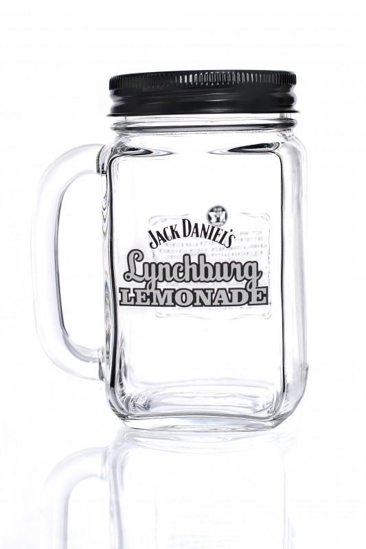 jack daniels whisky lynchburg lemonade krug mit d. Black Bedroom Furniture Sets. Home Design Ideas