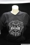 Cuervo Jose T-Shirt (Damen) Fruit of the Loom, schwarz, Größe S