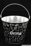 Cuervo Jose Eiswürfeleimer / Eiswürfelbehälter / Eisbox - verzinkt