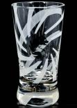Russian Standart Vodka Glas / Gläser, Design Shotglas mit Silberpräger