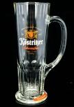 Köstritzer Schwarzbier Glas, Gläser, Bierglas, Biergläser Habsburgseidel 0,4l, Krug
