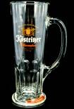Köstritzer Schwarzbier Glas, Gläser, Bierglas, Biergläser, Habsburgseidel rot 0,5l, Krug