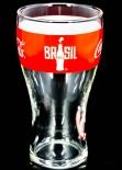 Coca Cola Glas / Gläser WM 2014 Brasilien Sammelglas, Nr.5 Uruguay 0,2l