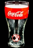 Coca Cola Glas / Gläser WM 2014 Brasilien Sammelglas, Nr.6 England 0,2l