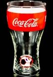 Coca Cola Glas / Gläser WM 2014 Brasilien Sammelglas, Nr.7 Frankreich 0,2l